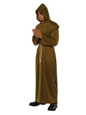 Friar Robe Men's Costume