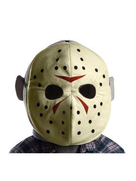 Friday the 13th Jason Mascot Mask Accessory