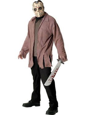 Friday the 13th Jason Voorhees Adult Costume