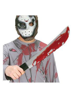 Friday the 13th Jason Voorhees Machete Knife
