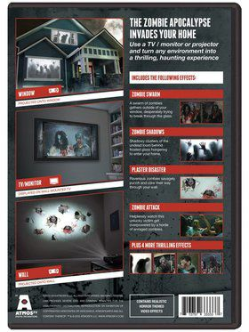 Frightening Zombie Invasion! DVD