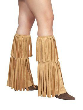 Fringed Leg Warmers Accessories