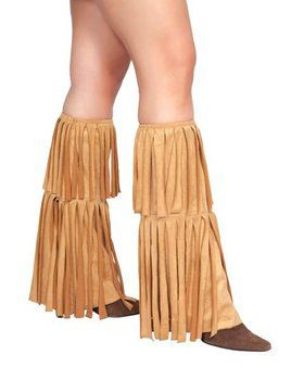 Fringed Leg Warmers Adult