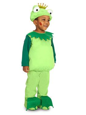 Frog Prince Costume For Toddlers