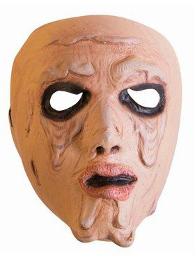 Frontal Melting Woman Adult Mask