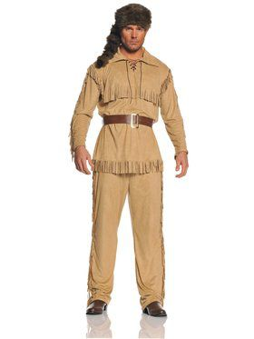 Frontier Man Mens Costume