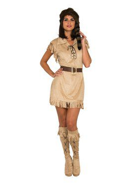 Frontier Native American Women's Costume