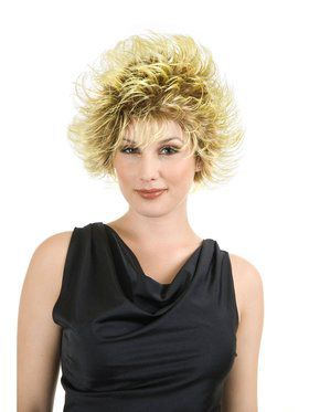 Women's Frosted Fashion Wig