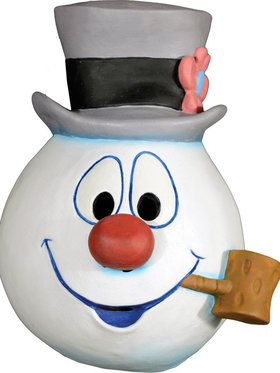 Frosty the Snowman Christmas Mask