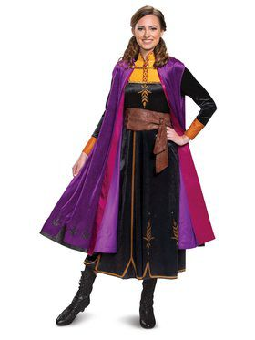 Frozen 2 Princess Anna Deluxe Costume for Adults