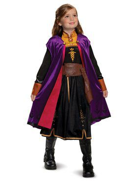 Frozen 2 Anna Deluxe Costume for Girls