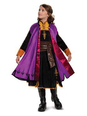 Frozen 2 Princess Anna Prestige Costume for Kids