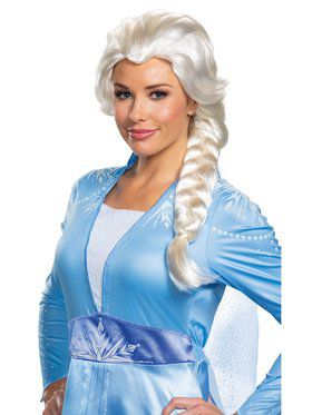 Princess Elsa Frozen 2 Wig for Adults