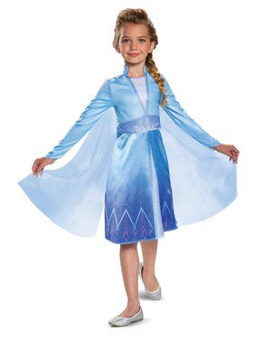 Frozen 2 Princess Elsa Classic Costume for Kids