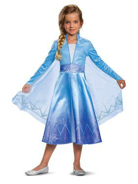 Frozen 2 Princess Elsa Deluxe Costume for Kids