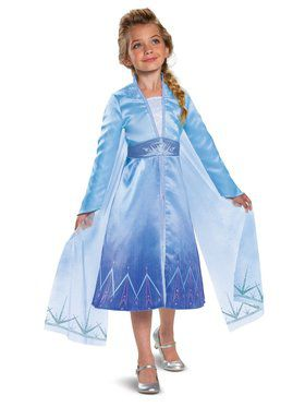 Frozen 2 Princess Elsa Prestige Costume for Toddlers
