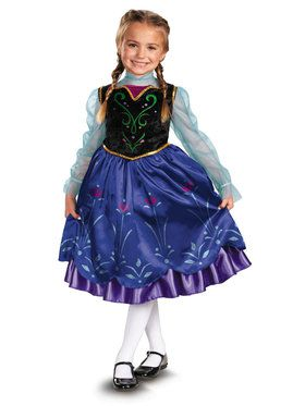 Frozen Anna Deluxe Child Costume