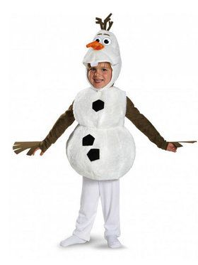 Toddler Frozen Melted Olaf Costume