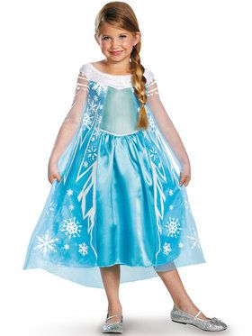 Frozen Elsa Deluxe Child Costume