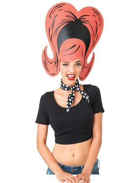 Adult Fun Flip Foam Wig For Adults