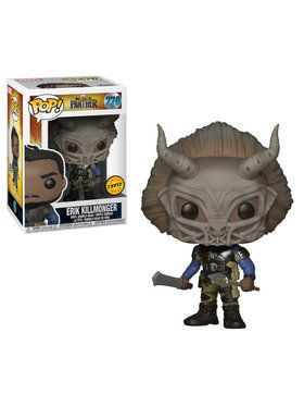 Funko POP Marvel: Black Panther- Killmonger