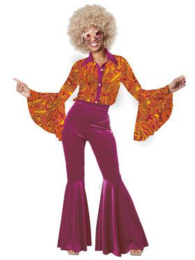 Funky Disco Diva Women's Costume