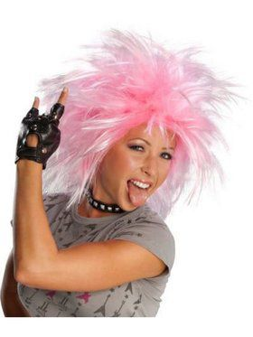 Punk and Funk Pink Wig