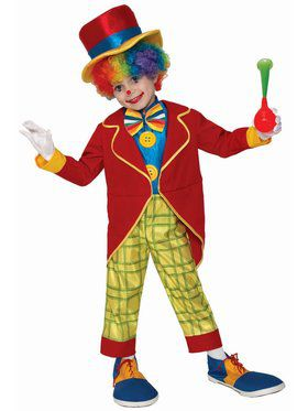 Funny Clown Child Costume