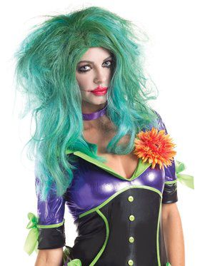 Funny Lady Villain Wig Adult