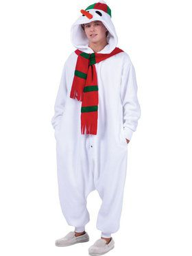 Funsies Snowman Men's Costume