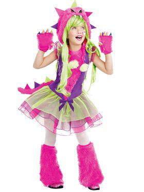 Fur-Ocious Creature Girl's Costume