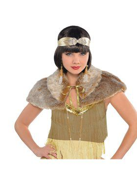Furry 20's Capelet Accessory Piece