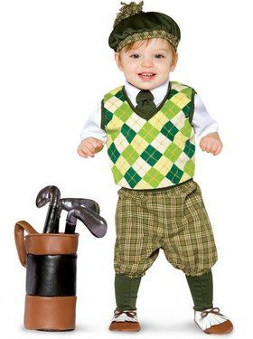 Future Golfer Costume For Toddlers