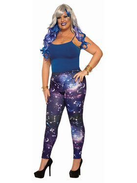 Plus Galaxy Leggings