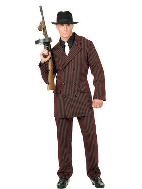 Gangster 6 Button Double Breasted Suit Costume