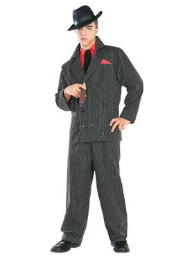 Gangster Man Adult Costume