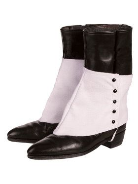 Gangster Adult Spats With Black Buttons