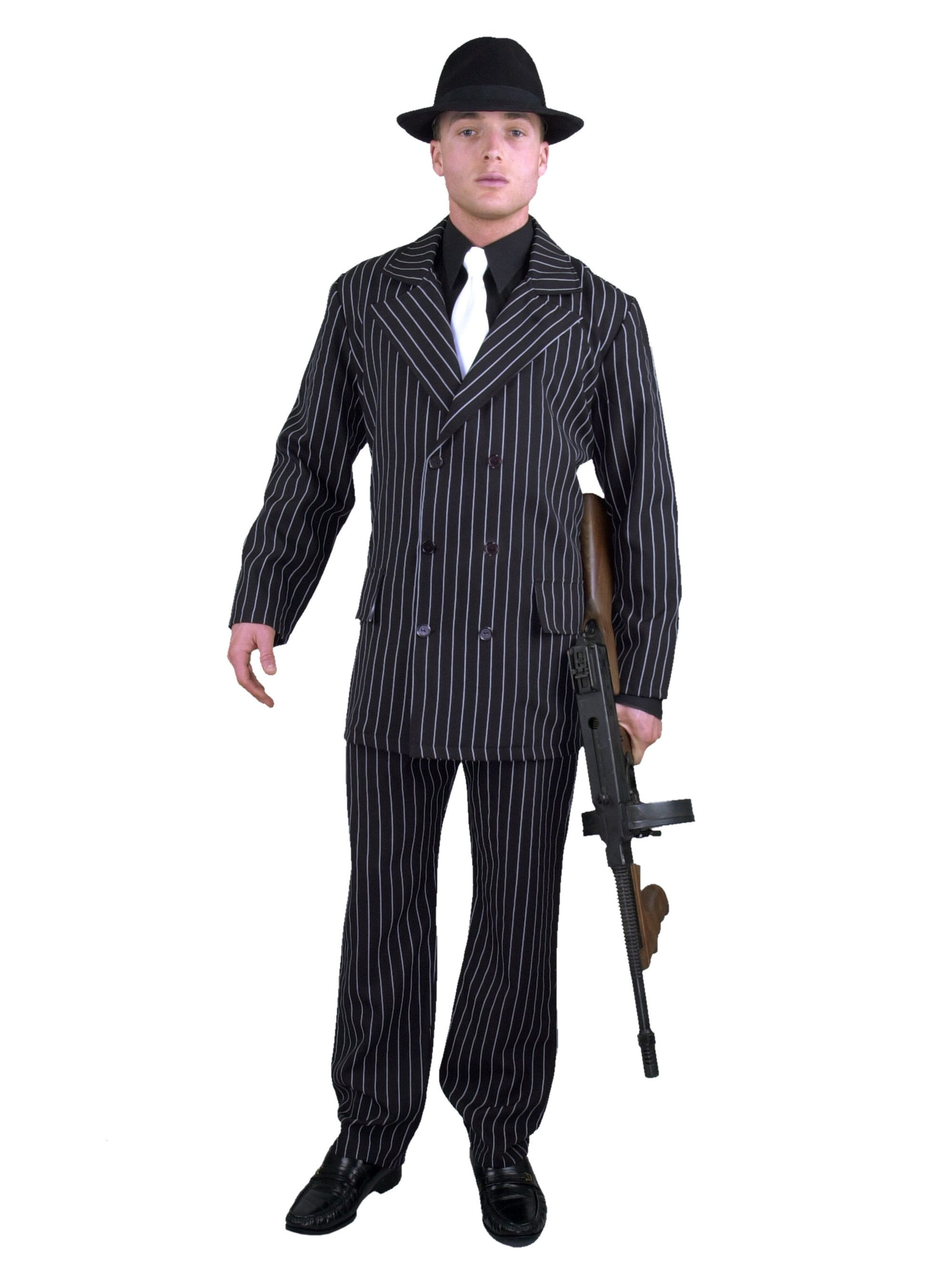 Gangster Suit Adult Costume  sc 1 st  Wholesale Halloween Costumes & Gangster Suit Adult Costume - Mens Costumes for 2018 | Wholesale ...