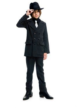 Boy's Gangster Suit Costume