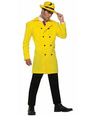 Gangster Yellow Jacket Men's Costume