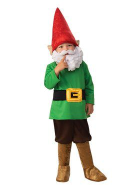 Garden Gnome Boy Costume for Kids