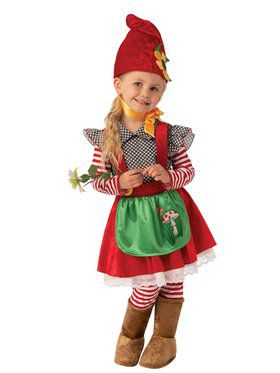 Garden Gnome Girl Costume for Kids