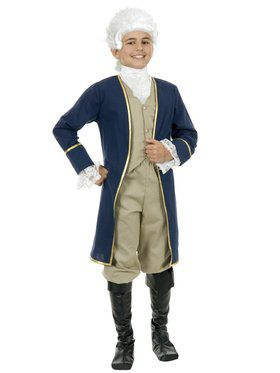 Kid's Classic George Washington Costume