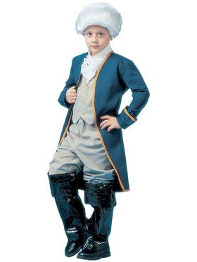 George Washington Child Costume