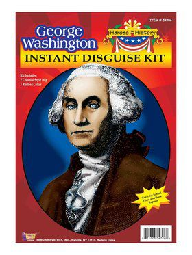 George Washington Wig and Jabot