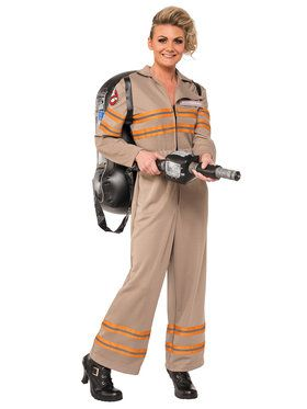 Ghost Buster's Movie Deluxe Ghostbusters Womens Costume