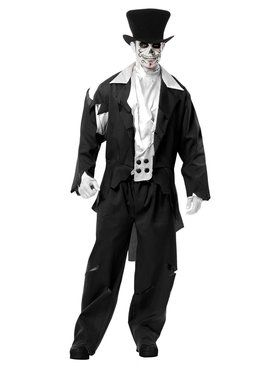 Adult's Ghost Groom Costume