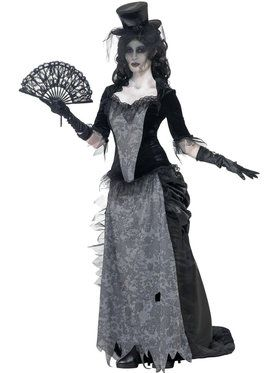 Ghost Town Black Widow Costume For Adults