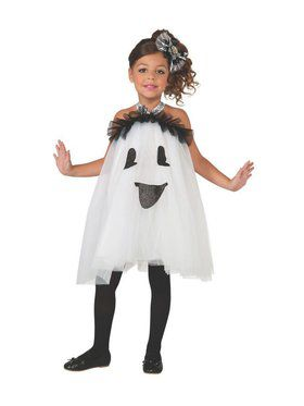 Ghost Tutu Dress Child Costume