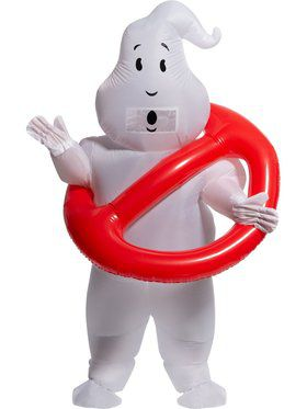 Ghostbusters No Ghosts Inflatable Costume for Adults